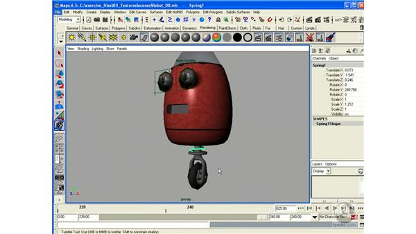 Project: Texturing a Robot - Part 2: Maya 6.5 Essential Training