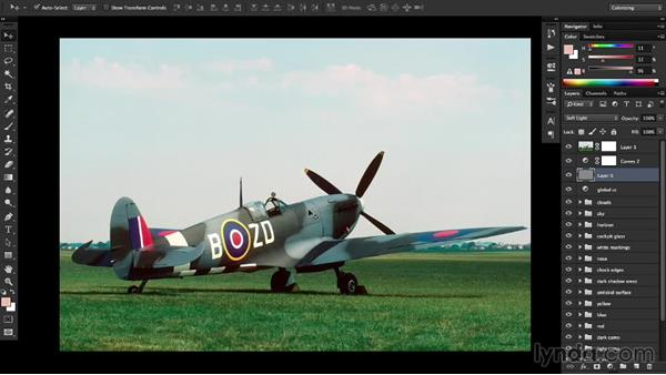 Reviewing the results: Recolorizing a Photograph with Photoshop