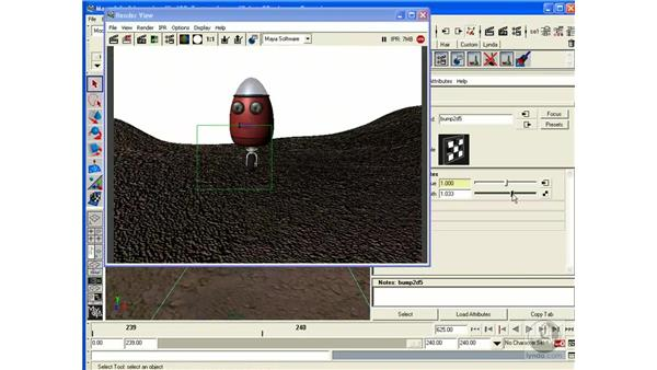 Project: Environment Textures: Maya 6.5 Essential Training