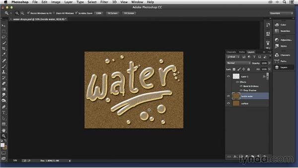 Creating water droplets on a surface: Pixel Playground