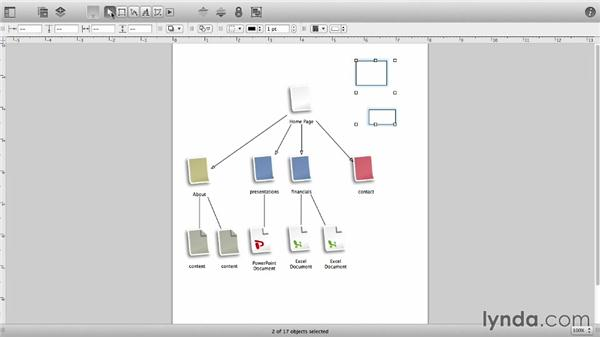 The canvas and the toolbar: OmniGraffle 6 Essential Training
