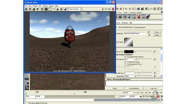 Project: Lighting the Scene: Maya 6.5 Essential Training