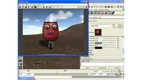 Project: Raytracing: Maya 6.5 Essential Training