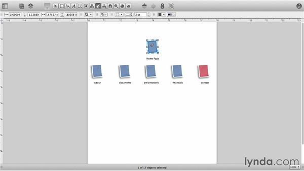 Replicate styles: OmniGraffle 6 Essential Training