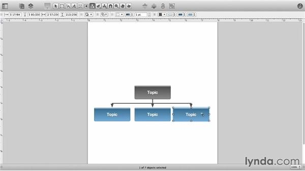 Diagram styles: OmniGraffle 6 Essential Training