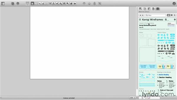 Use and create templates: OmniGraffle 6 Essential Training