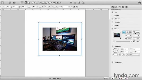 Import images: OmniGraffle 6 Essential Training