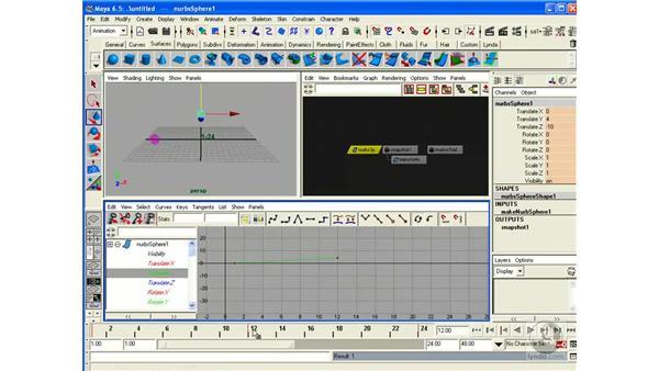 Curve Editor: Maya 6.5 Essential Training