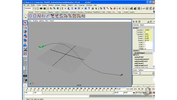 Animation Paths: Maya 6.5 Essential Training