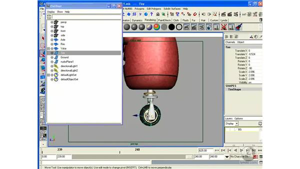 Project: Setting up for Animation: Maya 6.5 Essential Training