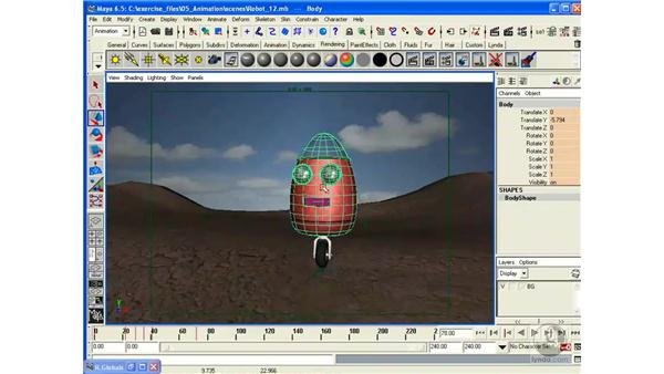 Project: Finalizing the Animation: Maya 6.5 Essential Training