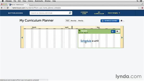 Lesson planning with BetterLesson.com: Teacher Tips