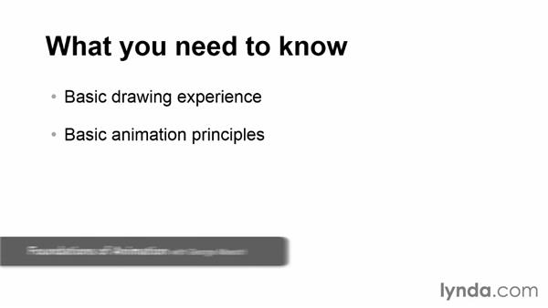 What you should know before watching this course: Hand-Drawn Animation in Flash