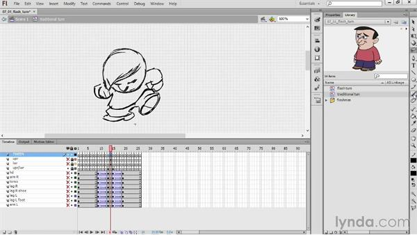 Drawing a difficult transition: Hand-Drawn Animation in Flash