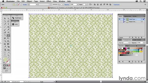 Patterns in the context of graphic design: Drawing Vector Graphics: Patterns