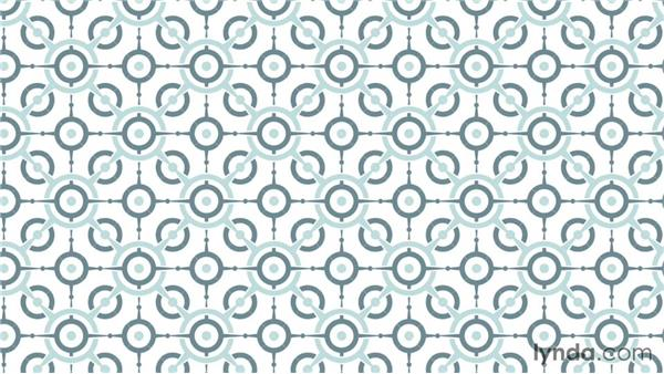 Patterns in the context of product design and accessories: Drawing Vector Graphics: Patterns