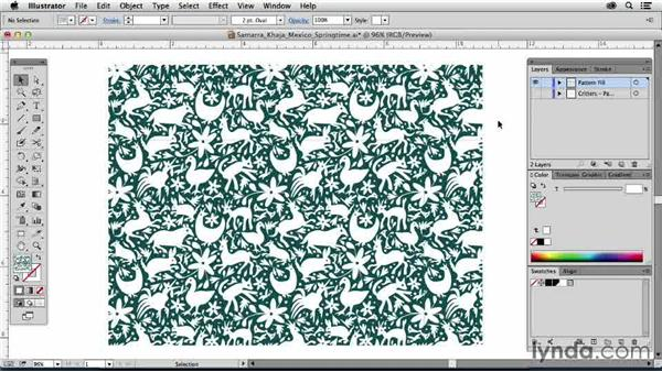 Samarra Khaja, United States: Drawing Vector Graphics: Patterns