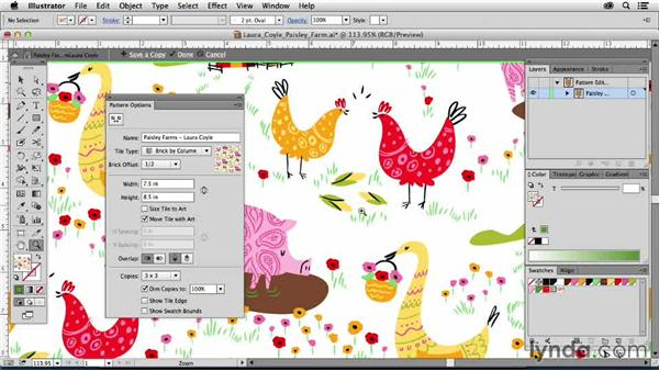 Laura Coyle, United States: Drawing Vector Graphics: Patterns