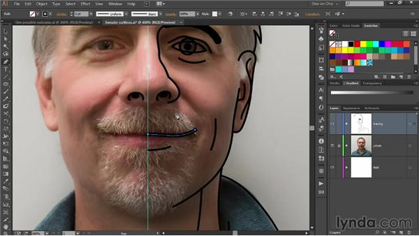 Roughing in hair and other complex features: Designing Your Own Online Avatar