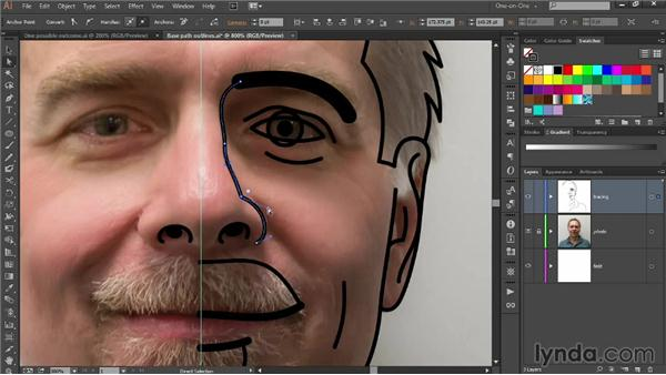 Reshaping paths to enhance their accuracy: Designing Your Own Online Avatar