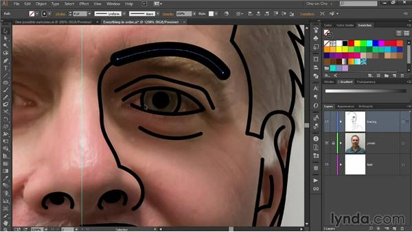 Assembling and exaggerating eyes: Designing Your Own Online Avatar