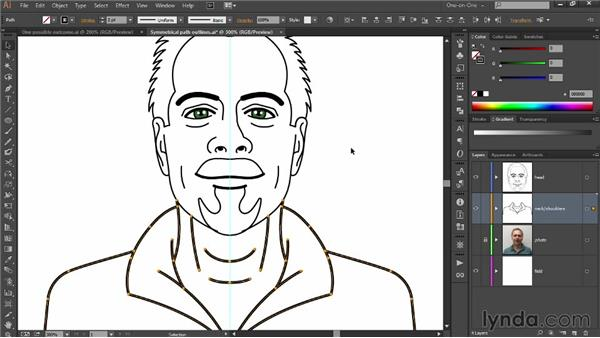 Separating and enlarging a face: Designing Your Own Online Avatar