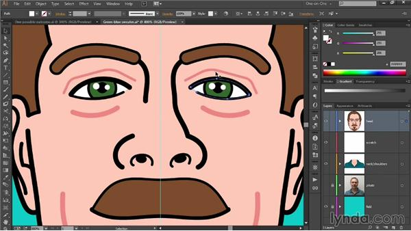 Independently scaling facial features: Designing Your Own Online Avatar