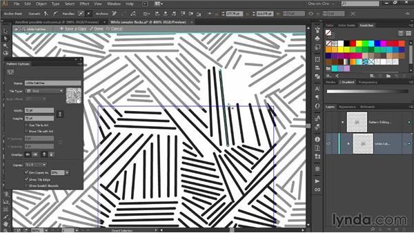 Designing a custom crosshatch pattern: Designing Your Own Online Avatar