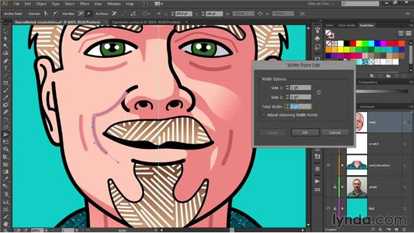 Adding playful smile lines: Designing Your Own Online Avatar