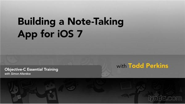 Next steps: Building a Note-Taking App for iOS 7
