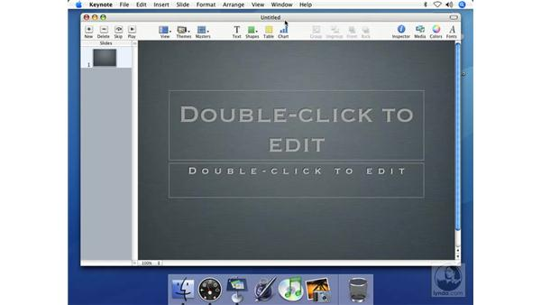Editing master slides: Keynote 2 Essential Training