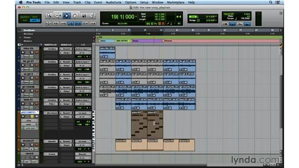 : Songwriting in Pro Tools