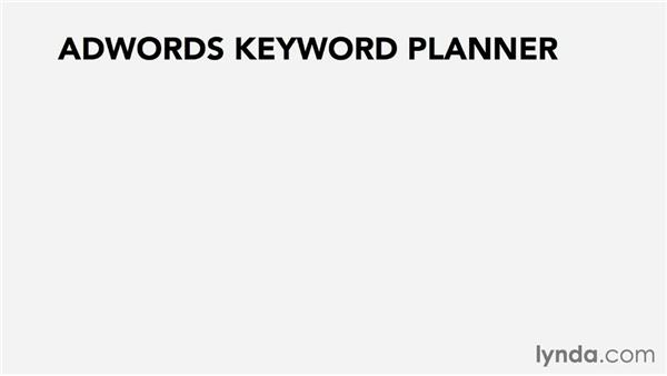 Researching keywords: Pay-Per-Click Fundamentals