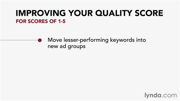 Using and improving your Google AdWords quality score: Pay-Per-Click Fundamentals