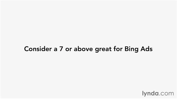 Using and improving your Bing Ads quality score: Pay-Per-Click Fundamentals