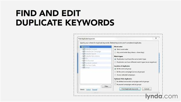 Using the AdWords desktop editor: Pay-Per-Click Fundamentals