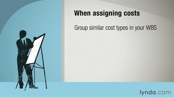 Assigning costs to resources: Managing Project Budgets