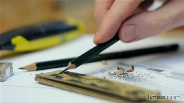 How to get the best tone from your pencils: Foundations of Drawing