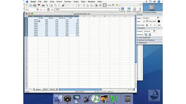 Data acquisition: Keynote 2 Essential Training