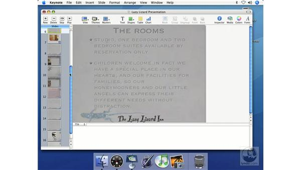 Skipping slides: Keynote 2 Essential Training