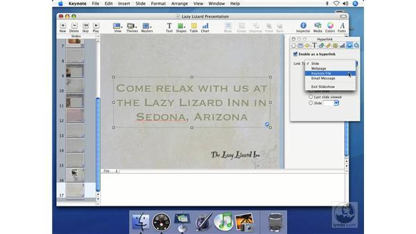 Looping presentations: Keynote 2 Essential Training