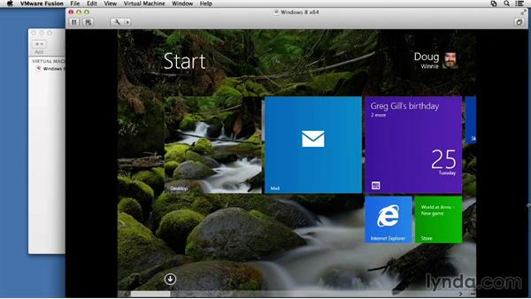 Next steps: Installing Windows 8 in VMware Fusion