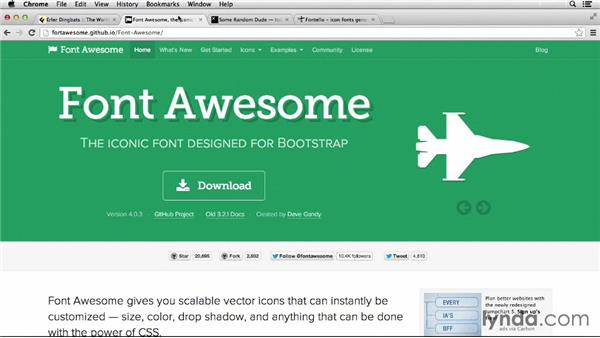 : Deploying Icon Fonts for the Web