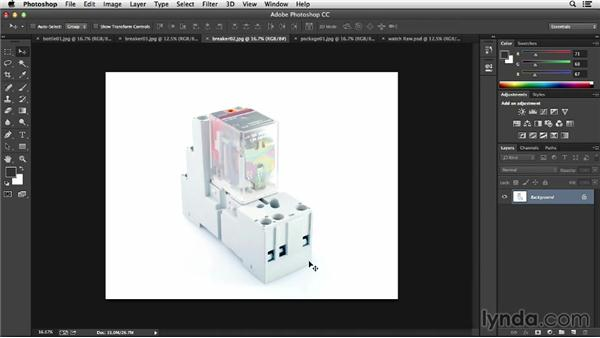 : Processing Product Photos with Photoshop