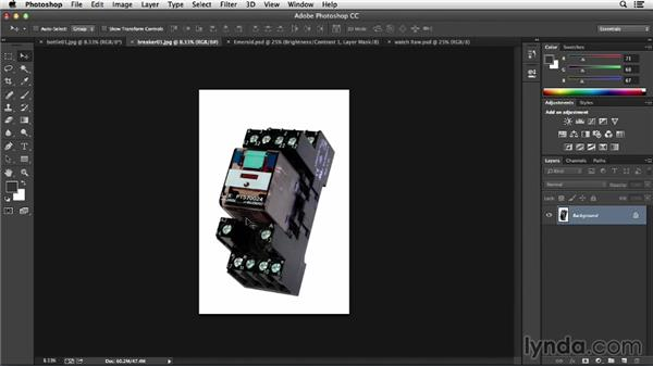 Utilizing colored or white backgrounds in Photoshop: Processing Product Photos with Photoshop