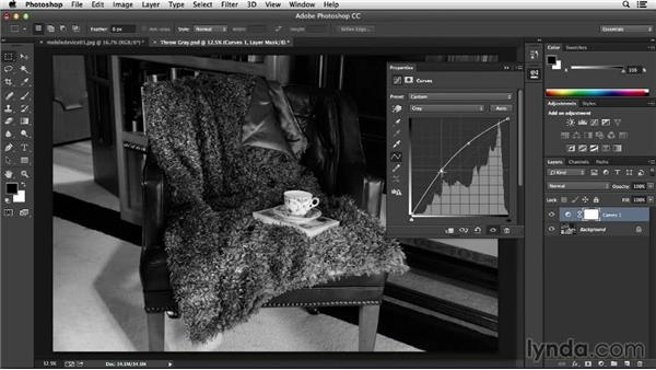 Adjusting exposure in Photoshop: Processing Product Photos with Photoshop