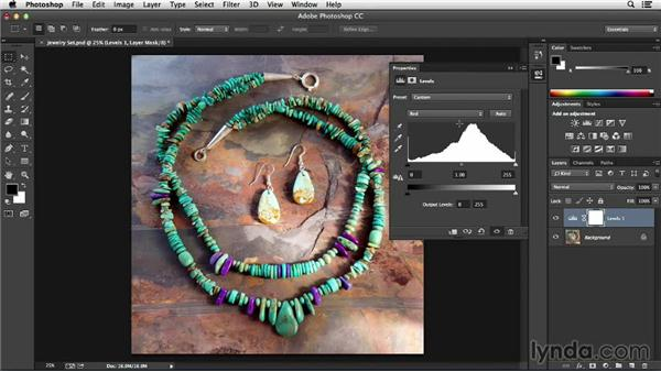 Easy color adjustments using the two-pass method: Processing Product Photos with Photoshop