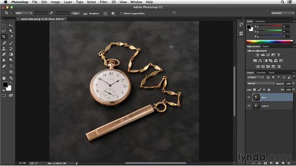 Using filters to remove dust and scratches: Processing Product Photos with Photoshop