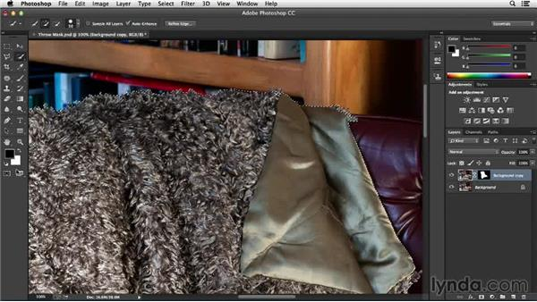 Cleaning up your selection: Processing Product Photos with Photoshop