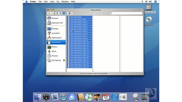 Simple CD Burning Cont'd: Mac OS X 10.4 Tiger Essential Training